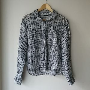Urban Outfitters BDG patterned button up shirt